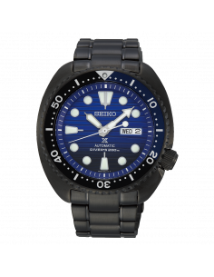 Seiko Save the ocean black edition turtle SRPD11K1 - orola.it