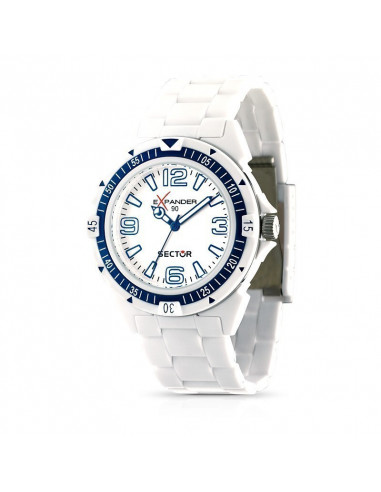 Orologio Sector Expander Bianco
