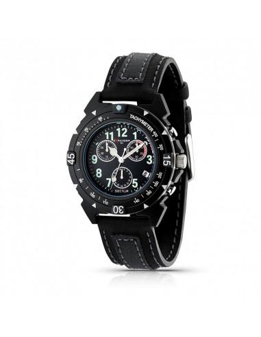 Orologio Sector Expander 90 Cronografo Nero e Bianco