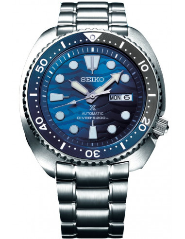 Seiko Save the ocean turtle great white shark SRPD21K1 -
