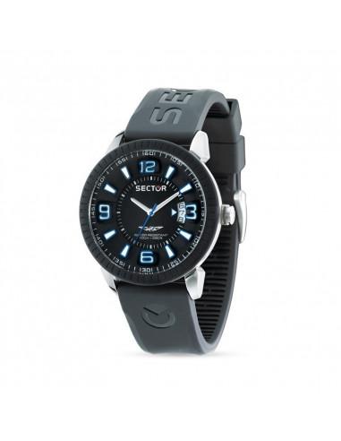 Orologio Sector Time Nero e Blu