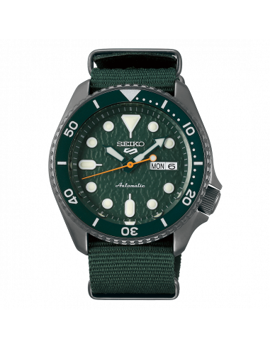 Seiko 5 Sport Green Army SRPD77K1 - orola.it