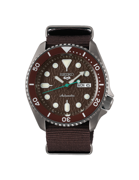 Seiko 5 Sport Sense African Ground SRPD85K1 - orola.it