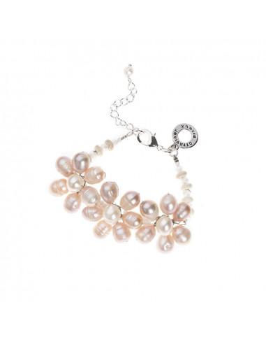 Bracciale Ottaviani con perle e cristalli