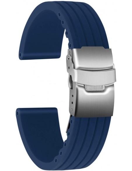 Cinturino con fibia Blu 20mm depb20mm - orola.it