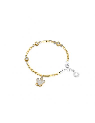Bracciale angeli di Giannotti argento e zirconi GIA385 -