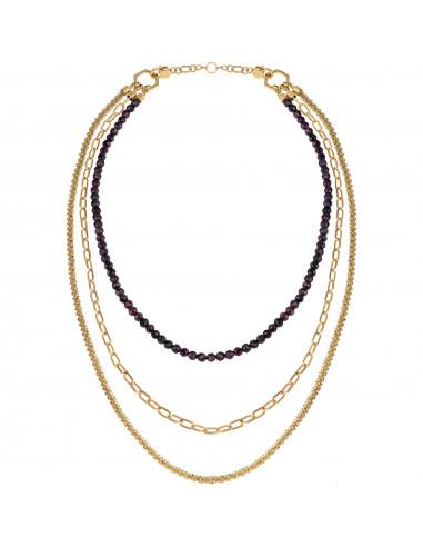 Collana donna Brei Kaleido multi indosso TJ3005 - orola.it