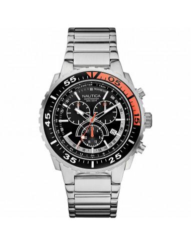 Nautica orologio cronografo nero e...
