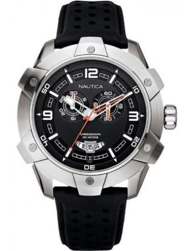 Nautica orologio cronografo nero rugged