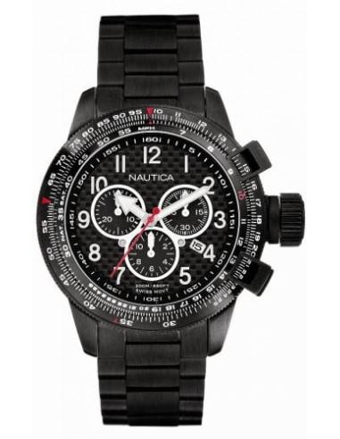 Nautica orologio cronografo total black