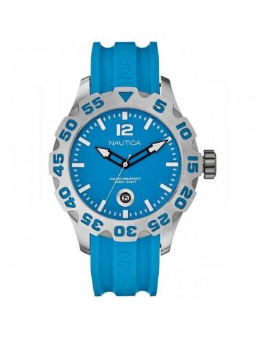 Nautica orologio solo tempo azzurro